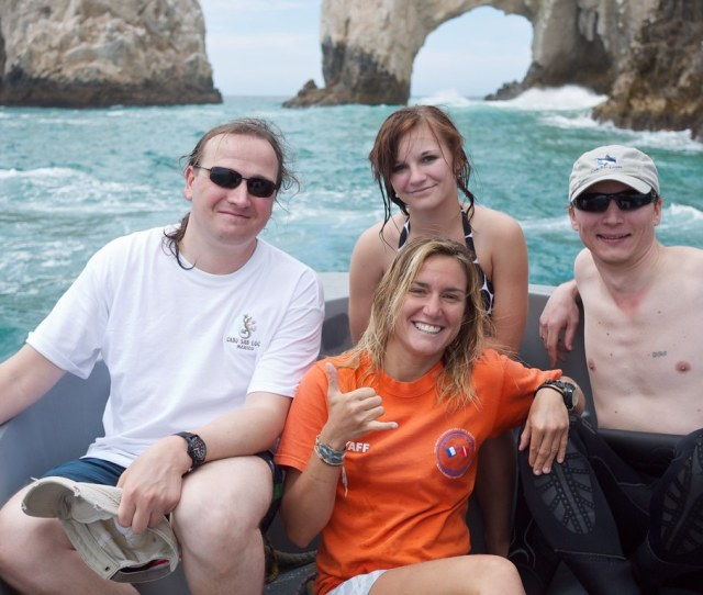 Katya Vlad And Our Diving Instructor By Vzaliva