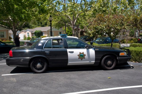 Mountain View Police Side | The side of a Mountain View ...