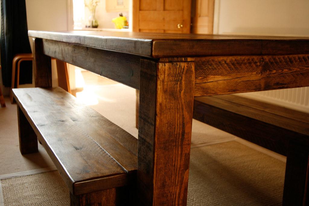 Farmhouse Table With