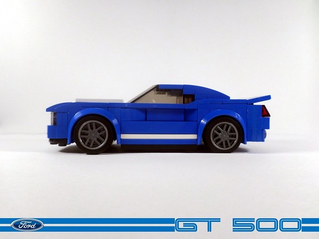 LEGO Ford Mustang GT500 MOC