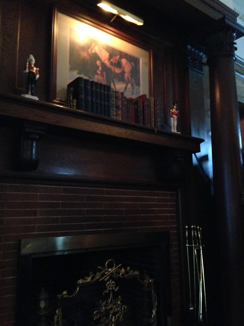 Library Lounge at Fairview Inn, Jackson MS