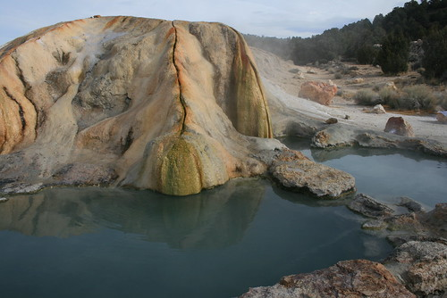Travertine Hot Springs Two Of The Quot Natural Quot Pools At The