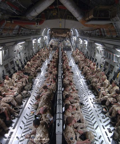 Troops Return From Afghanistan On C17 Transport Aircraft Flickr
