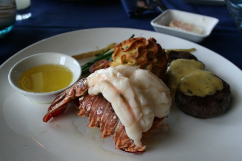 Surf & Turf at Narcoossee's