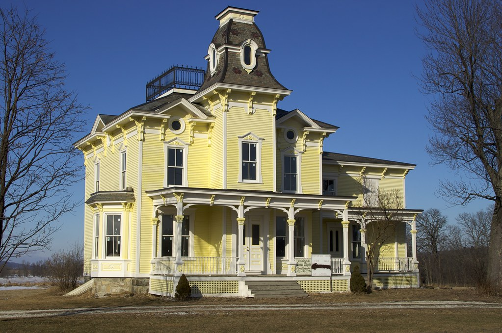 Ghost House Post Restoration The Victorian Farm House