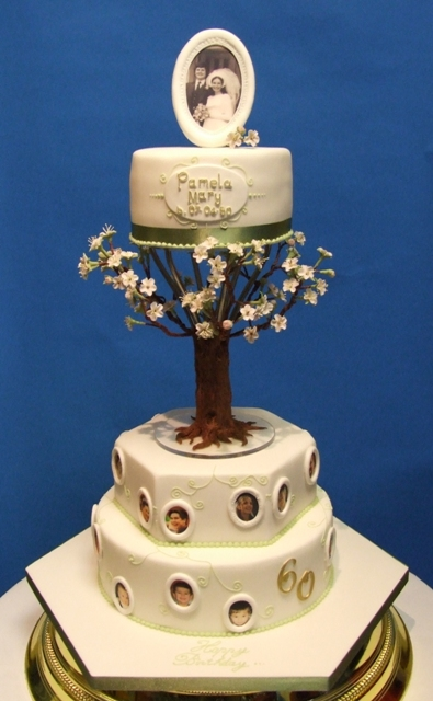 Family Tree 60th Cake For My Mum S Surprise 60th