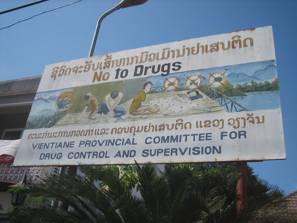 Just Say No In Vientiane Province