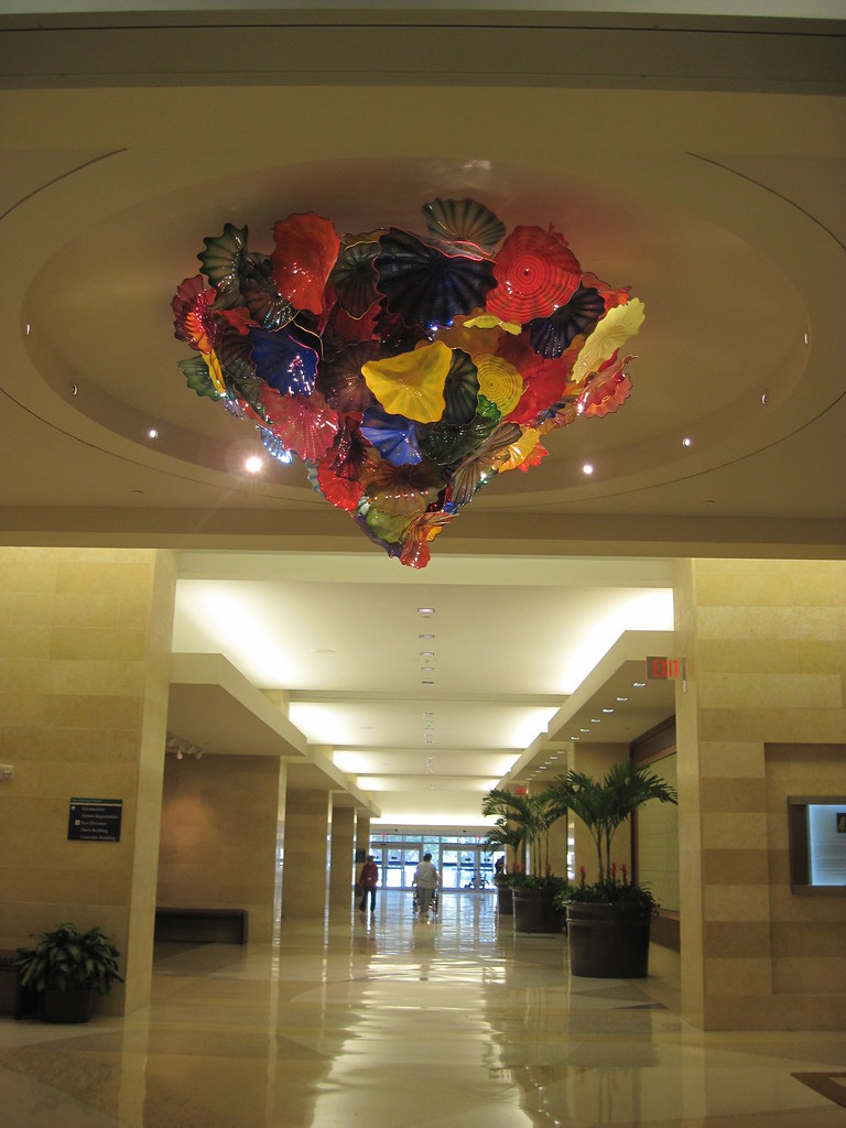 Dale Chihuly Chandelier Mayo Clinic Jacksonville Fl