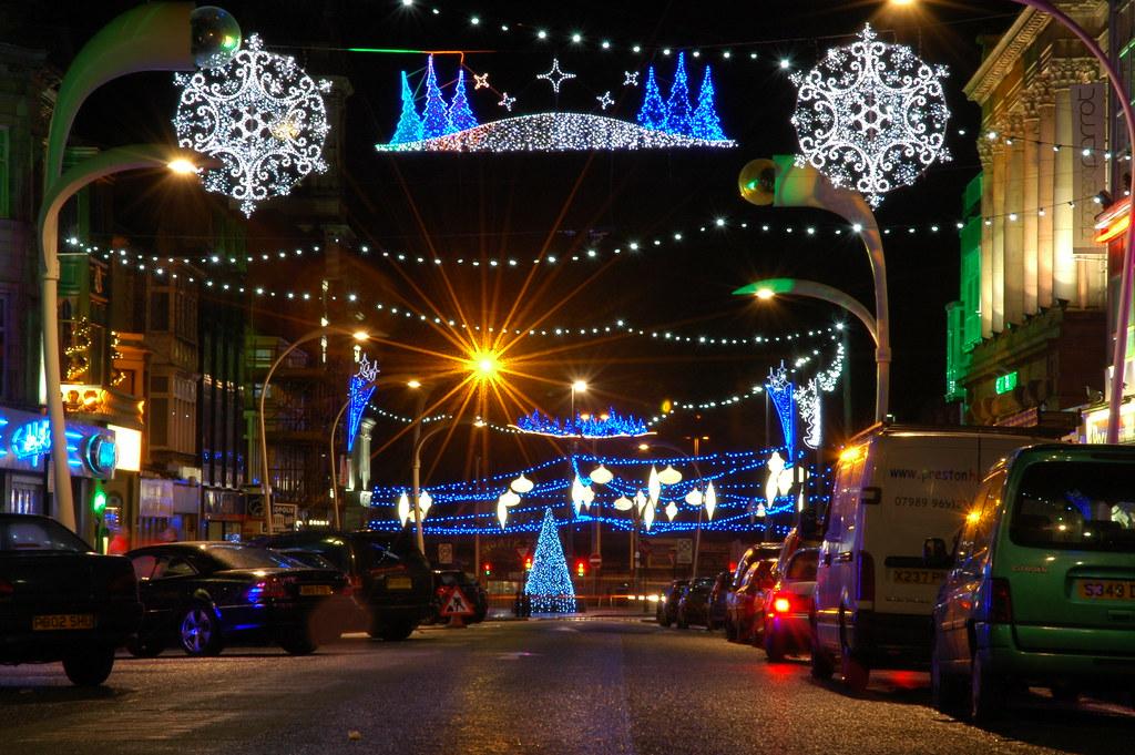Blackpool Christmas Lights 2009 Paul King Flickr