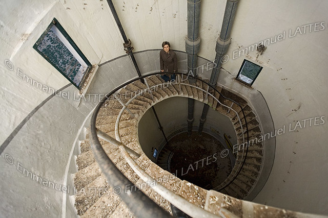 Escalier En Colimaon Lintrieur Dun Chteau Deau Ch