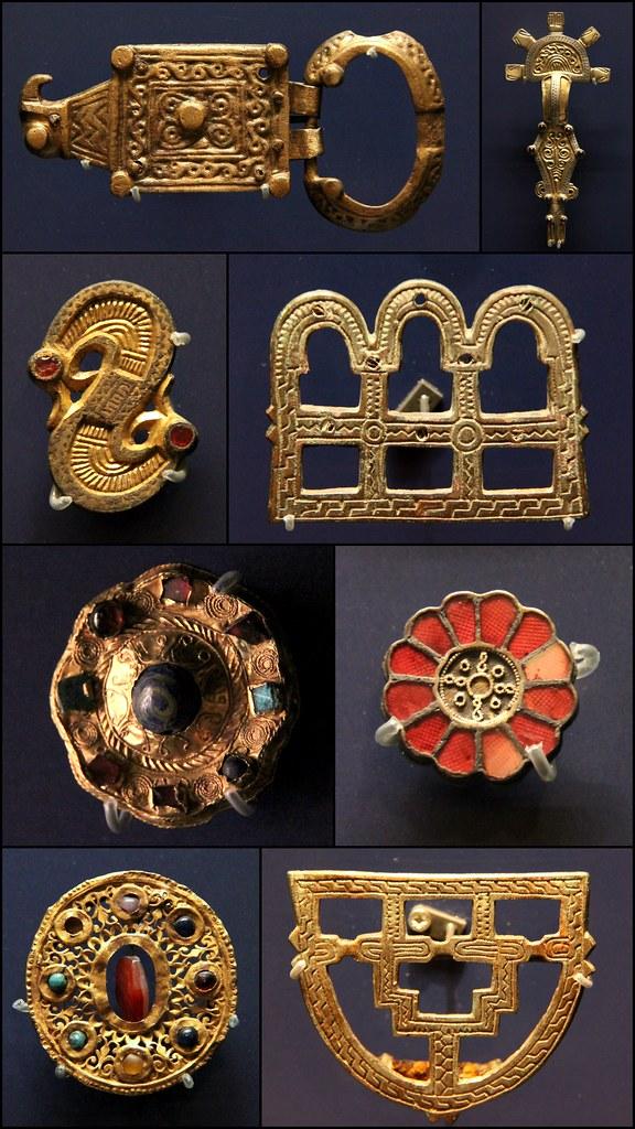 Frankish Jewellery 500 600 Ashmolean Museum Oxford No