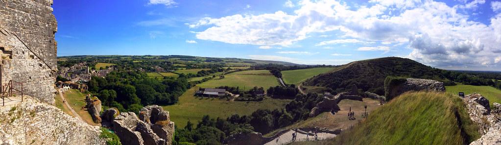 """Castillo de Corfe - La Bruja Novata - Inglaterra castillo de corfe Escenarios de """"La Bruja Novata"""" – Castillo de Corfe 32711611622 155e5c1c64 b"""