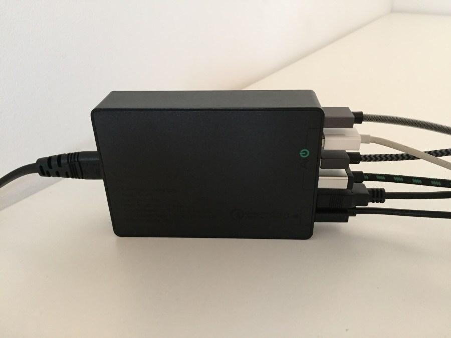 20170224 Chargeur secteur 6 ports USB Aukey avec Quick Charge 3.0 10