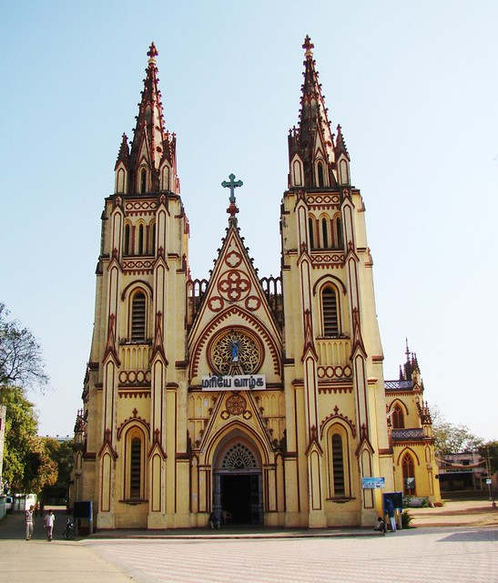 St. Mary's Cathedral, Madurai | St. Mary's Church in ...