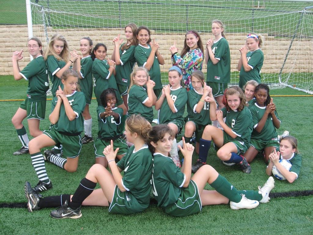 Middle School Soccer Green Team