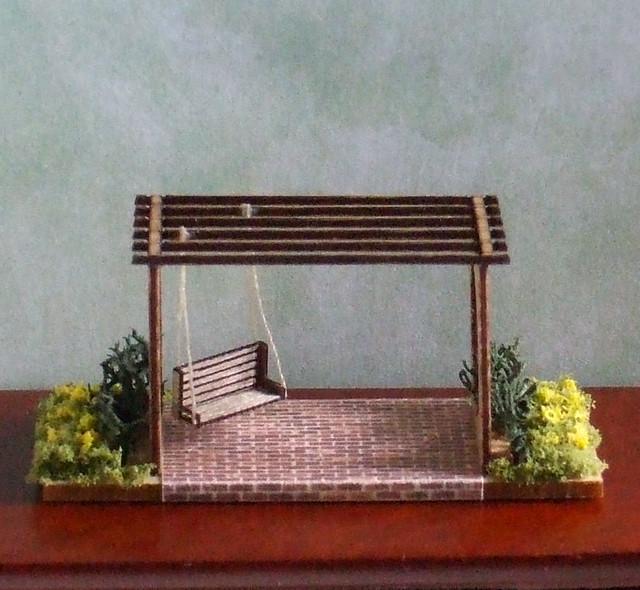 1 144th Scale Micro Mini Pergola 1 7 8 Long One Inch