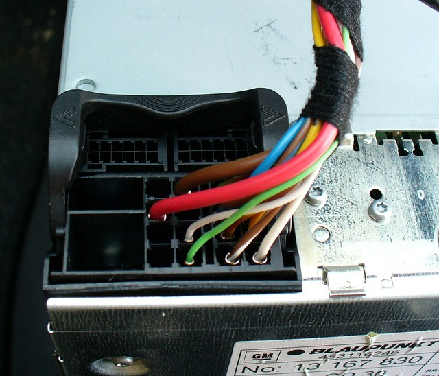 Radio Stecker OpelVauxhall Corsa C  Car stereo Multipoin