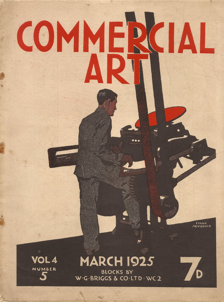 Cover To Commercial Art Magazine 1925 Artwork By Frank Flickr
