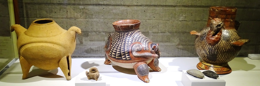 Jarrones ceramica nicoyana Museo del Oro Banco Central San Jose Costa Rica 13