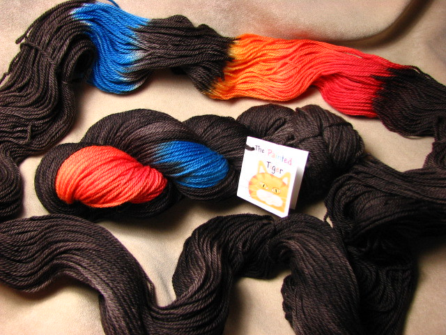 Chocolate w/ Sprinkles - Tiger Sport Sock Yarn - January 2017 Tiger Club