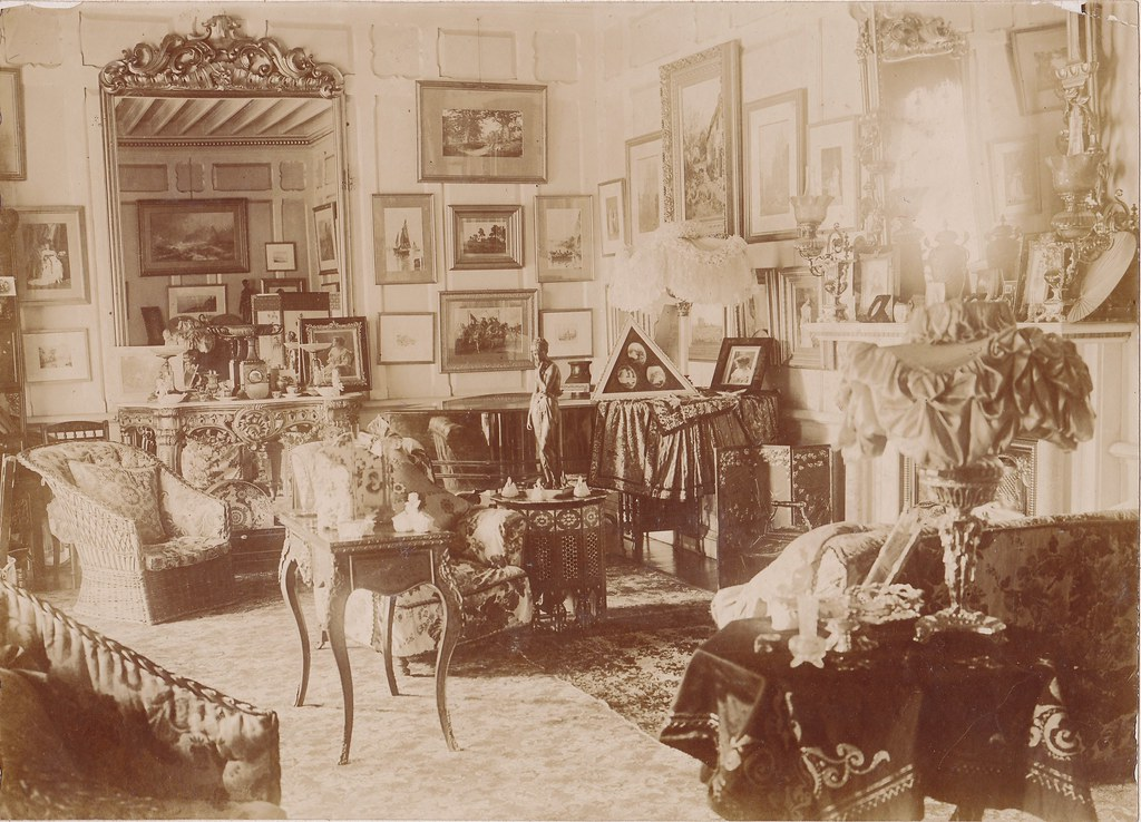 Late Victorian Interior A C1900 Interior Shot No