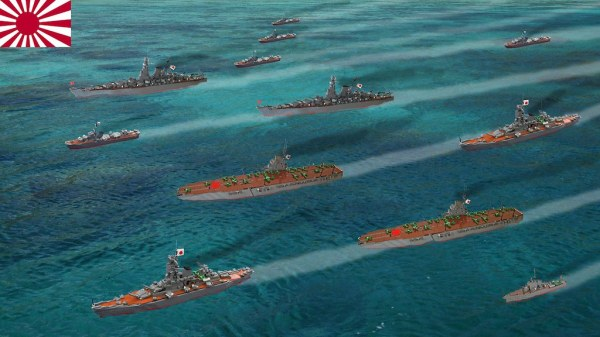 Japanese navy fleet review | The photo shows the Japanese ...