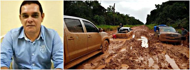 """Curta metragem """"BR 163, a rodovia sem fim"""" será lançado hoje em Santarém, BR 163, Emanuel Júlio"""