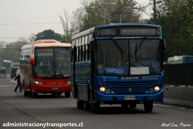 Centropuerto | Santiago | Busscar Urbanuss - Mercedes Benz / UD7486
