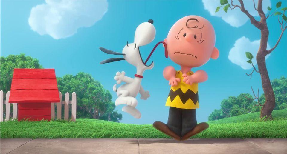 Peanuts 3D Movie Trailer Charles Schulzs Charlie Brown