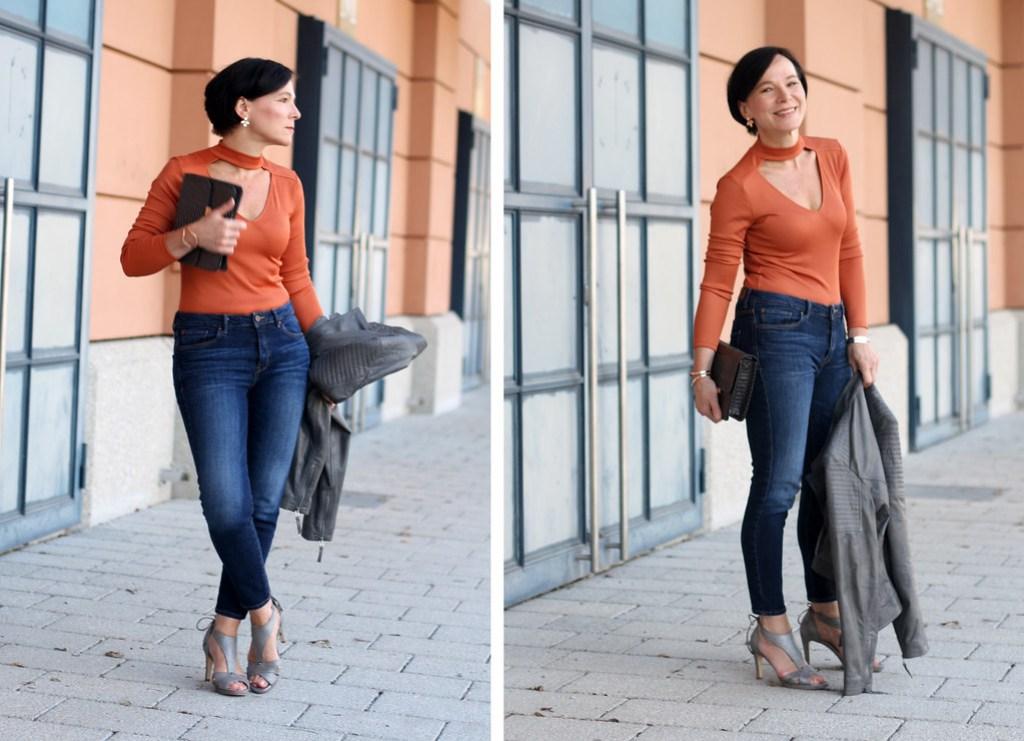 Skinny Jeans Calla Sandals
