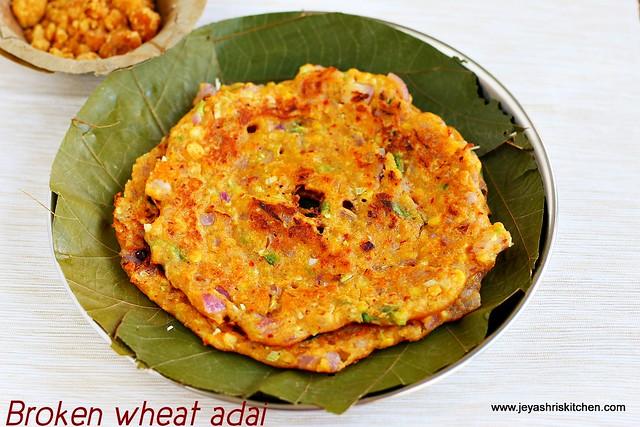 samba- wheat adai