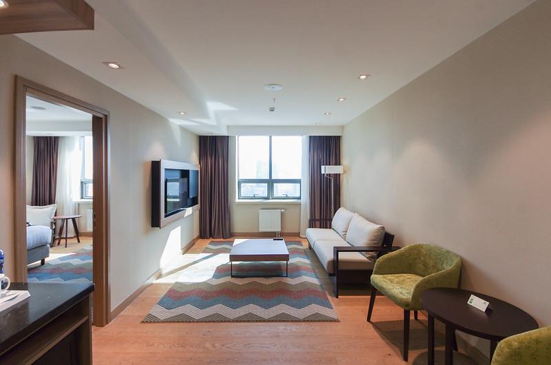 executive suite living room - holiday inn ulaanbaatar