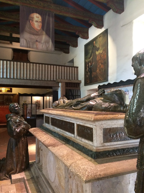 Tomb At Mission Carmel