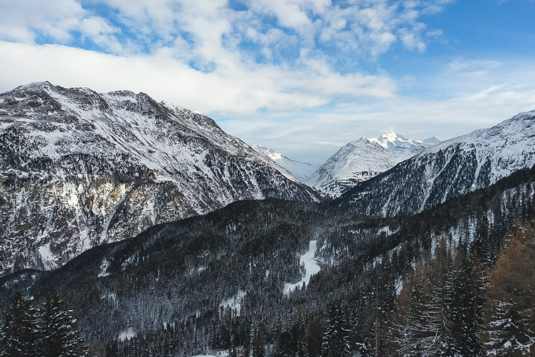 Solden, Austria - Bluebird Day