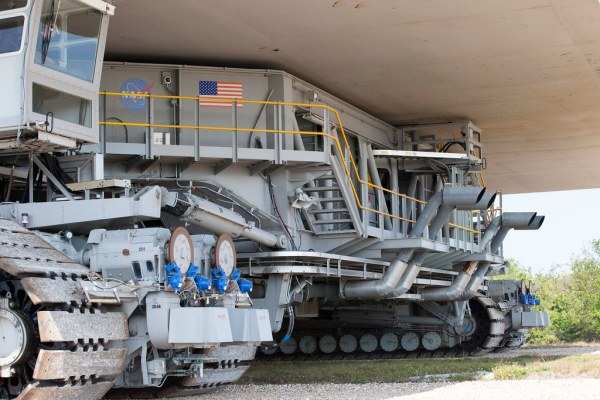 KSC20170322PHLCH010006 NASAs upgraded crawler