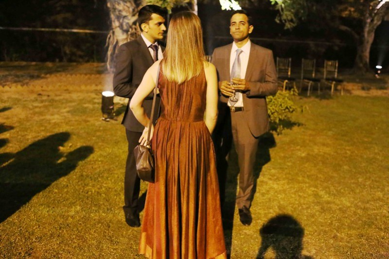 Photo Essay - The Lonely Foreign Woman and Other Women in the Italian Unification Celebrations, Italian Embassy Grounds