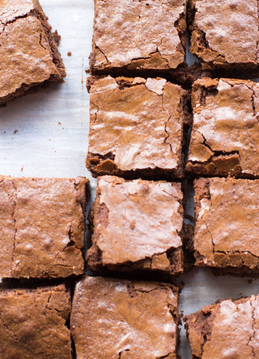 One-bowl chewy brownies are as easy as and more delicious than even the best boxed mix!