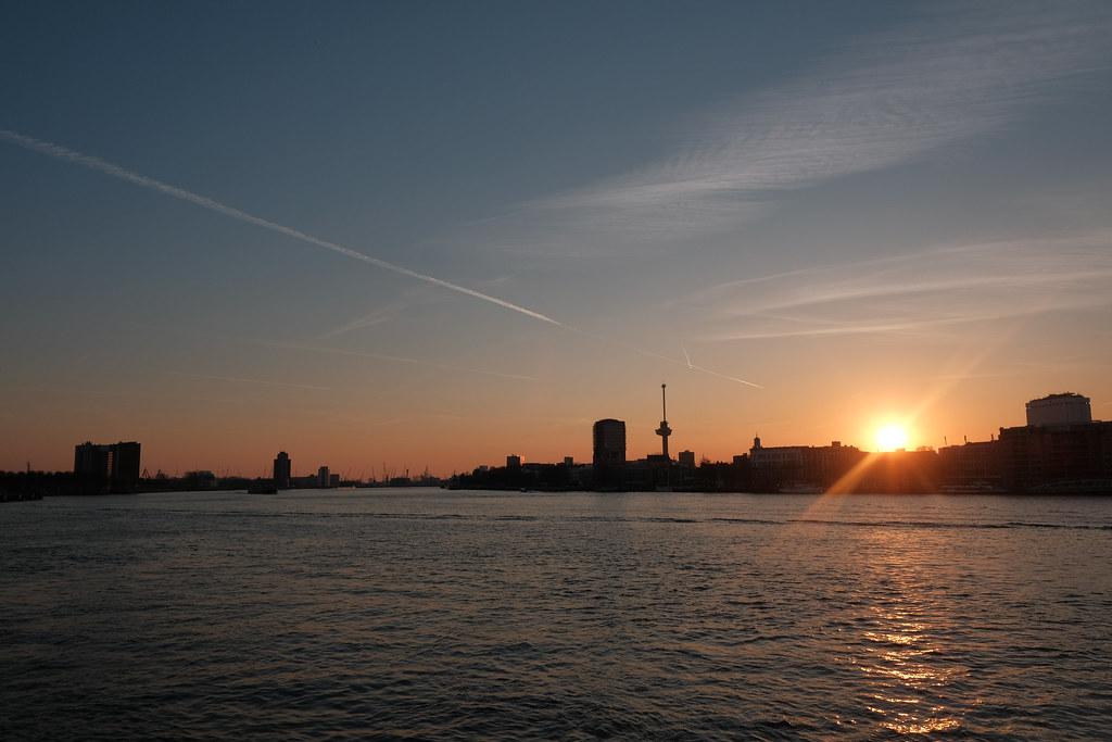 Rotterdam by night