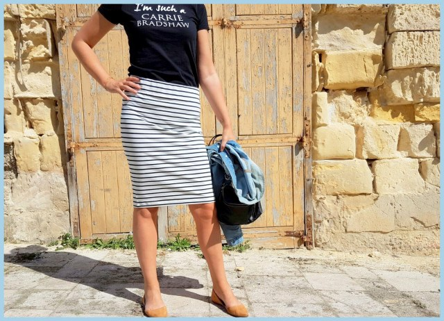 striped pencil skirt 3