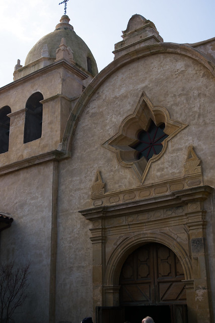 Chapel Entrance At Mission Carmel