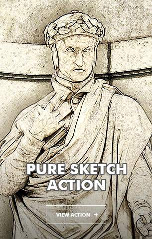 Special Sketch Photoshop Action - 107