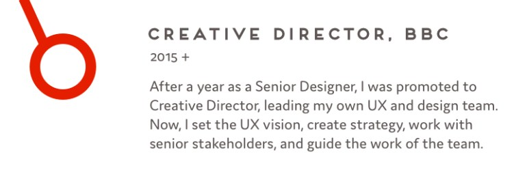 Creative Director, BBC