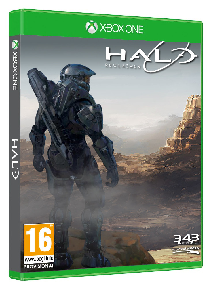 Halo 5 Xbox One Cover Art So I Was Looking Through Some