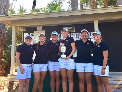 2017-03-19 HPU Womens Golf Low Country Intercollegiate