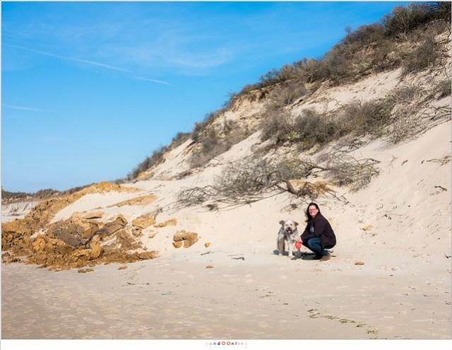 Samen op het strand van Wissant