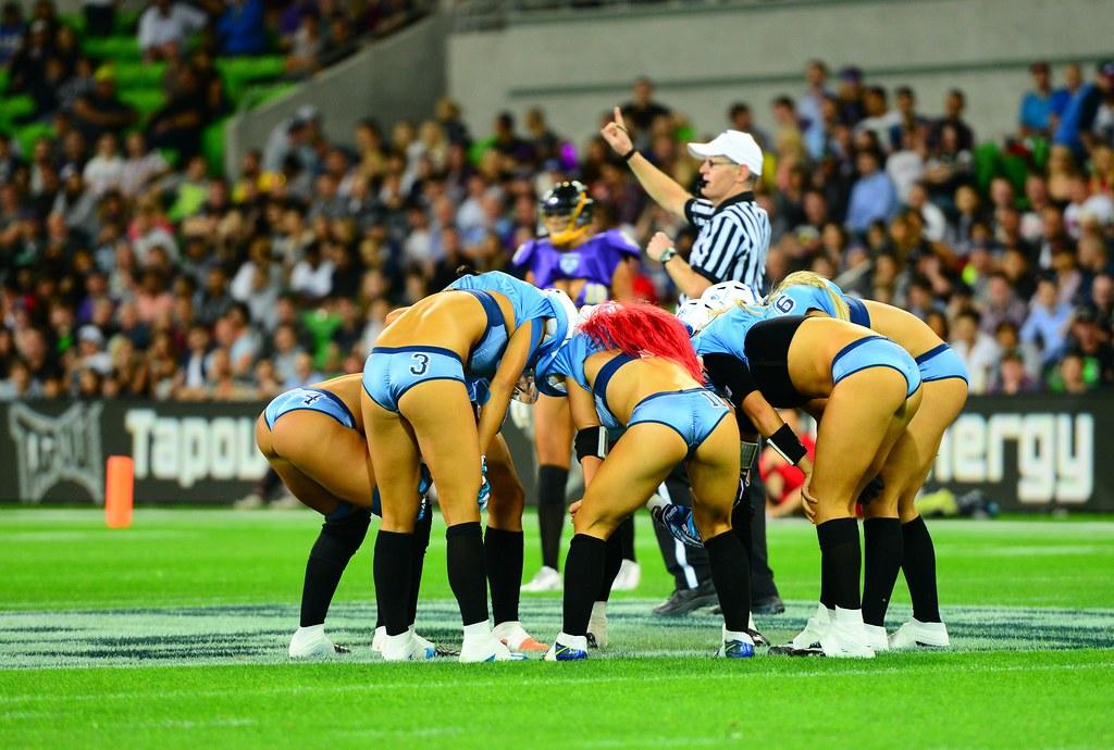 Legends Football League Australia Victoria Maidens Vs N Flickr