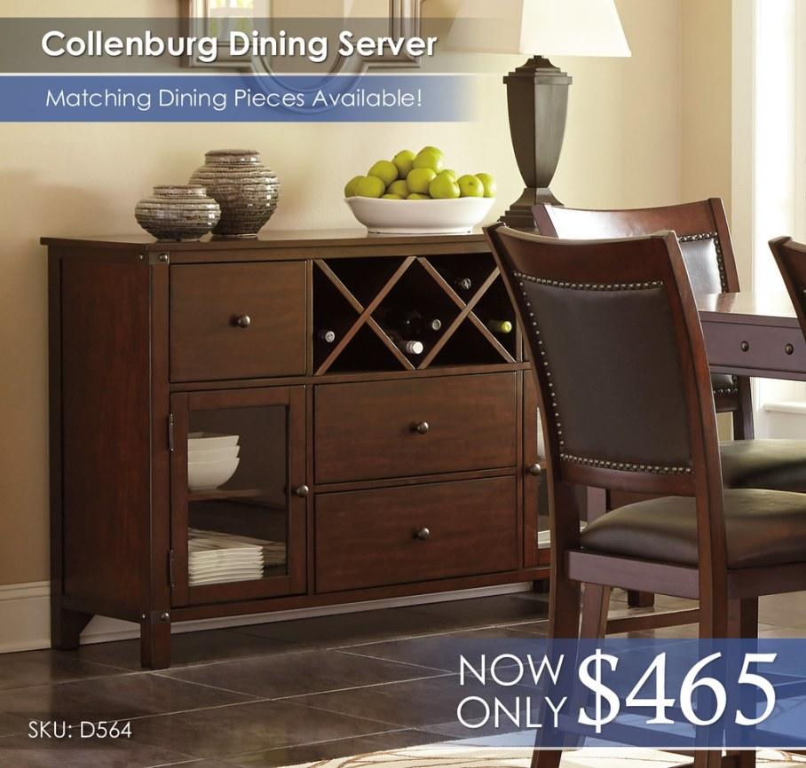 Collenburg Dining Server D564