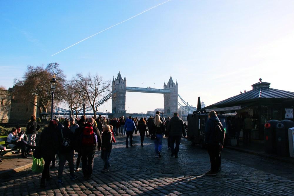 11 Dec 2016: Tower Bridge   London, England