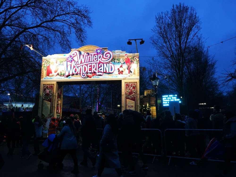 10 Dec 2016: Winter Wonderland | London, England