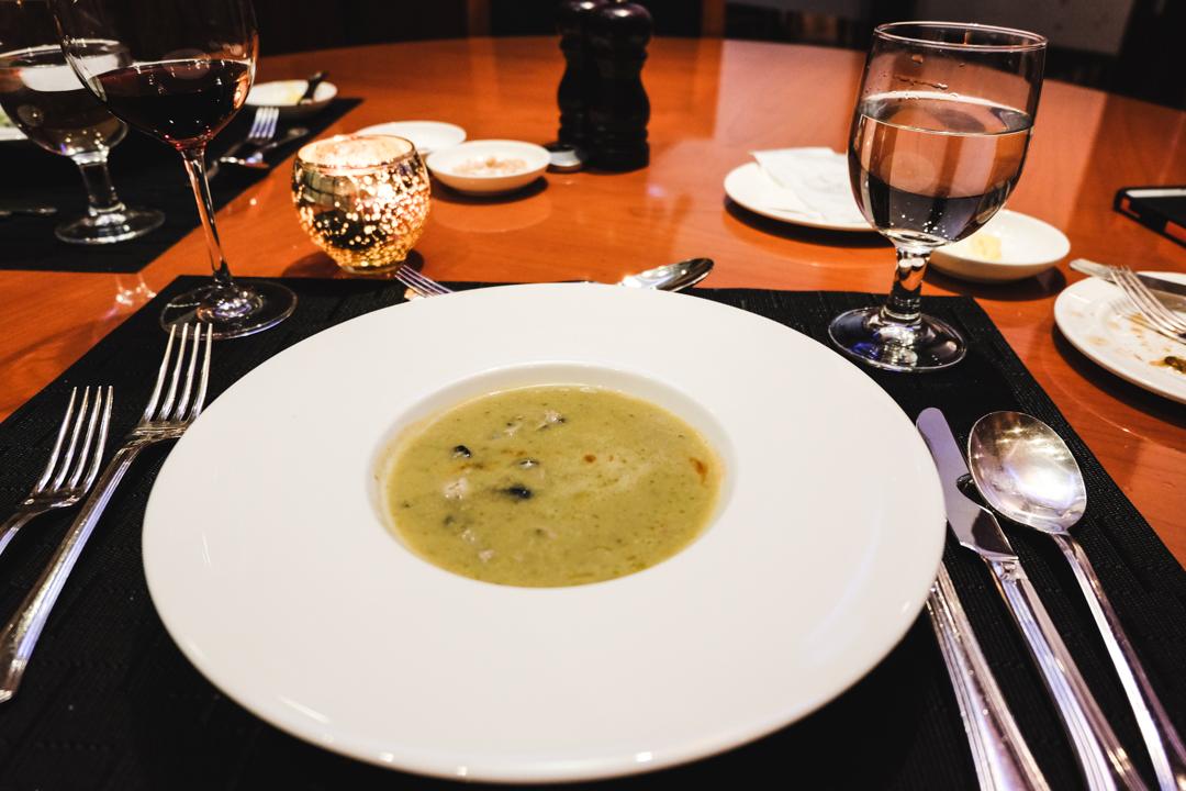 seoul // vday dinner at cafe de chef